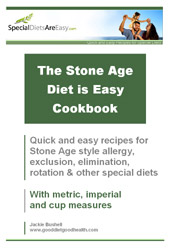 Stone Age Diet is Easy Cookbook
